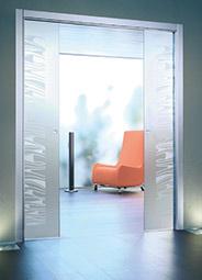 10mm Double Glass Door