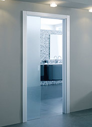 8mm single glass door